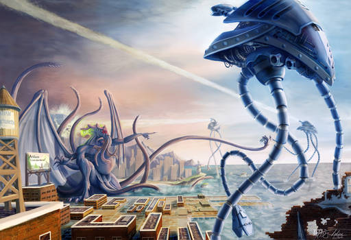 War of the Worlds Vs. Cthulhu