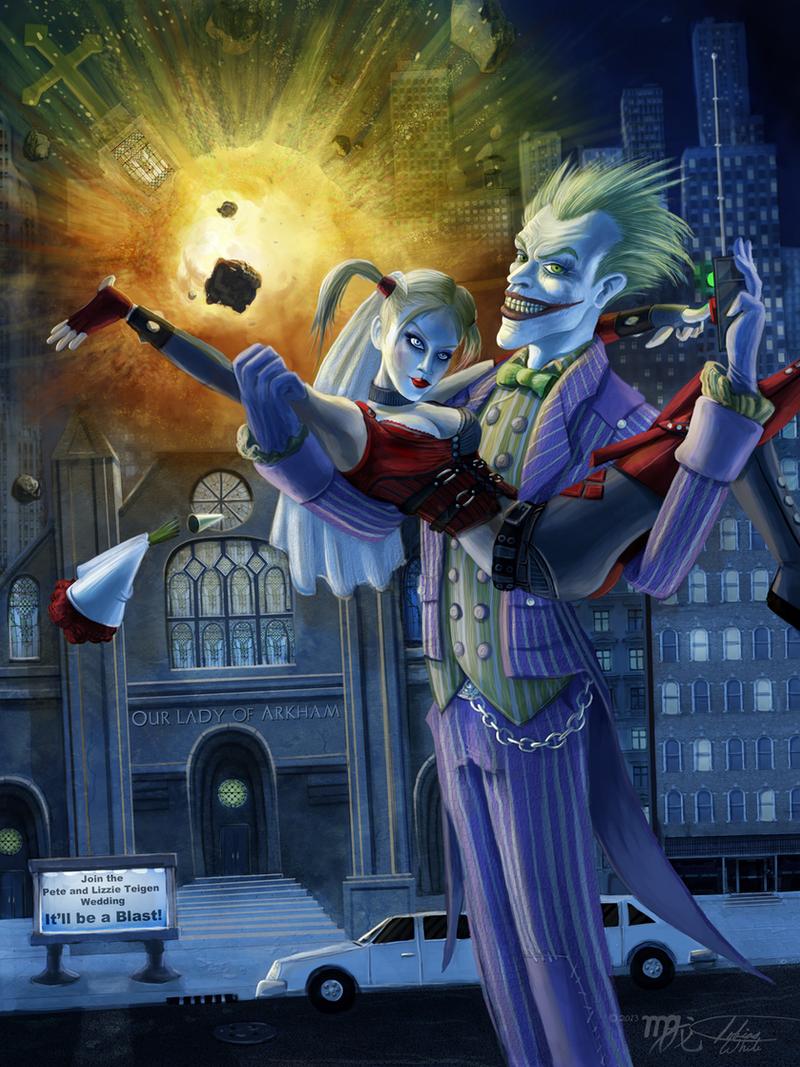 Joker and Harley: Wedding Crashers by Ito-Saith-Webb
