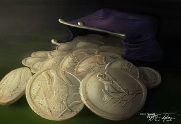 SPOOKS! Charon Coins by Ito-Saith-Webb