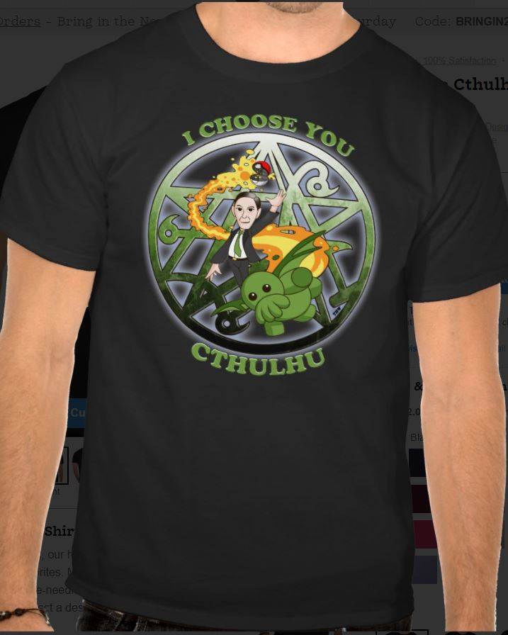 I Choose Cthulhu by Ito-Saith-Webb