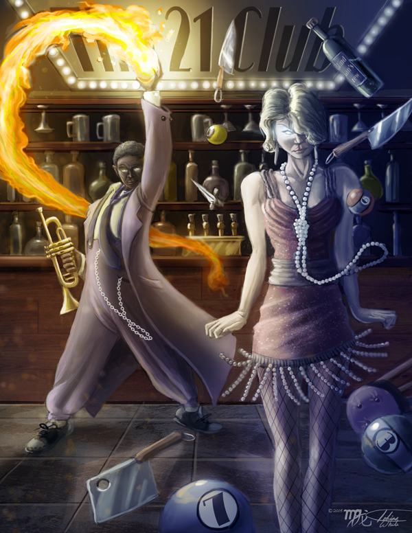 Spooks! Mortal Intrusion: Espers by Ito-Saith-Webb