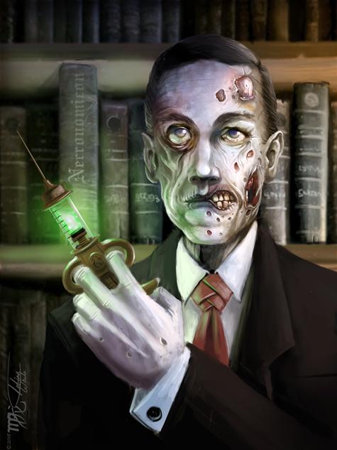 Zombie Lovecraft by Ito-Saith-Webb