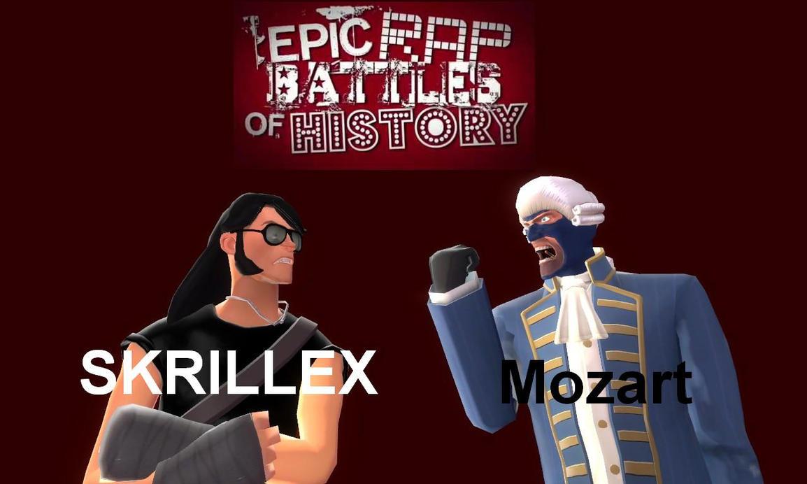 epic rap battles of history mozart vs skrillex by cowboygineer on