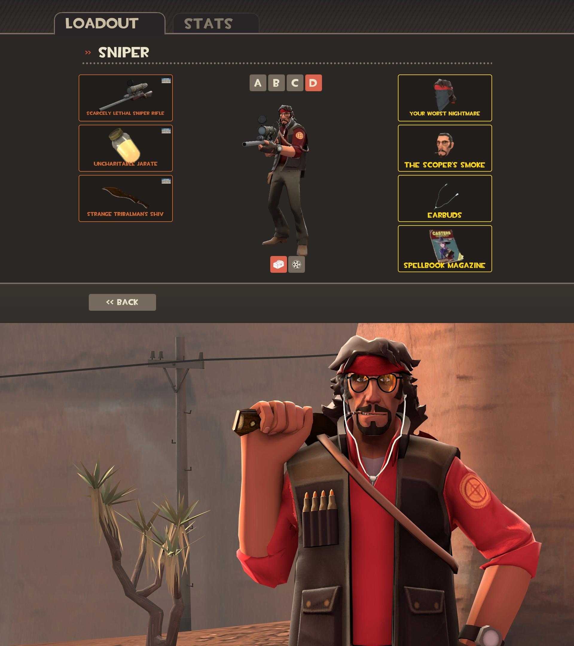 New TF2 Sniper Loadout! by Cowboygineer on DeviantArt