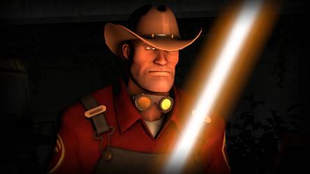 Jedi Cowboy by Cowboygineer