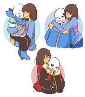 Hugs by Rimoussitta