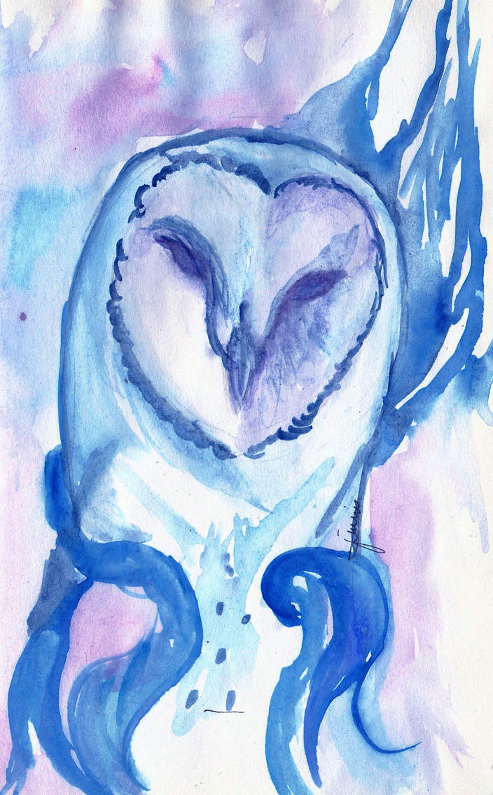 Owl - quick sketch by jeskohh