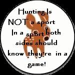 Not a sport by Cajincatcher