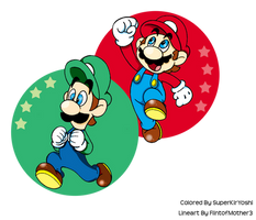 Super Mario Brothers by Zieghost