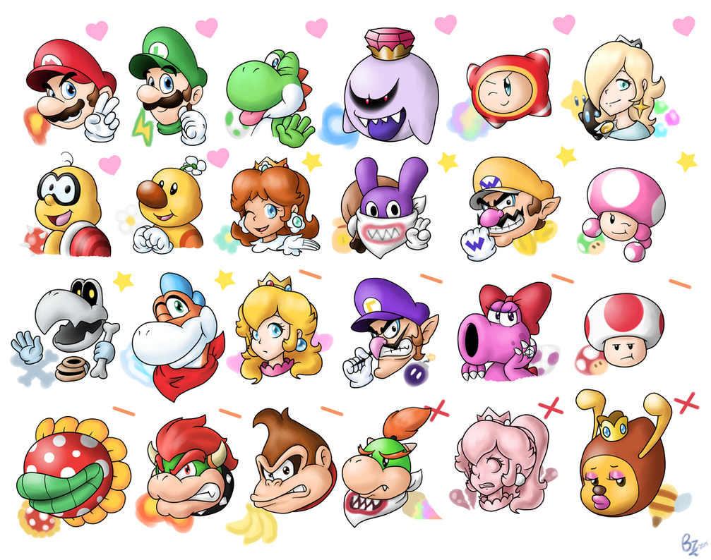 New Mario Character Preference By Zieghost On Deviantart