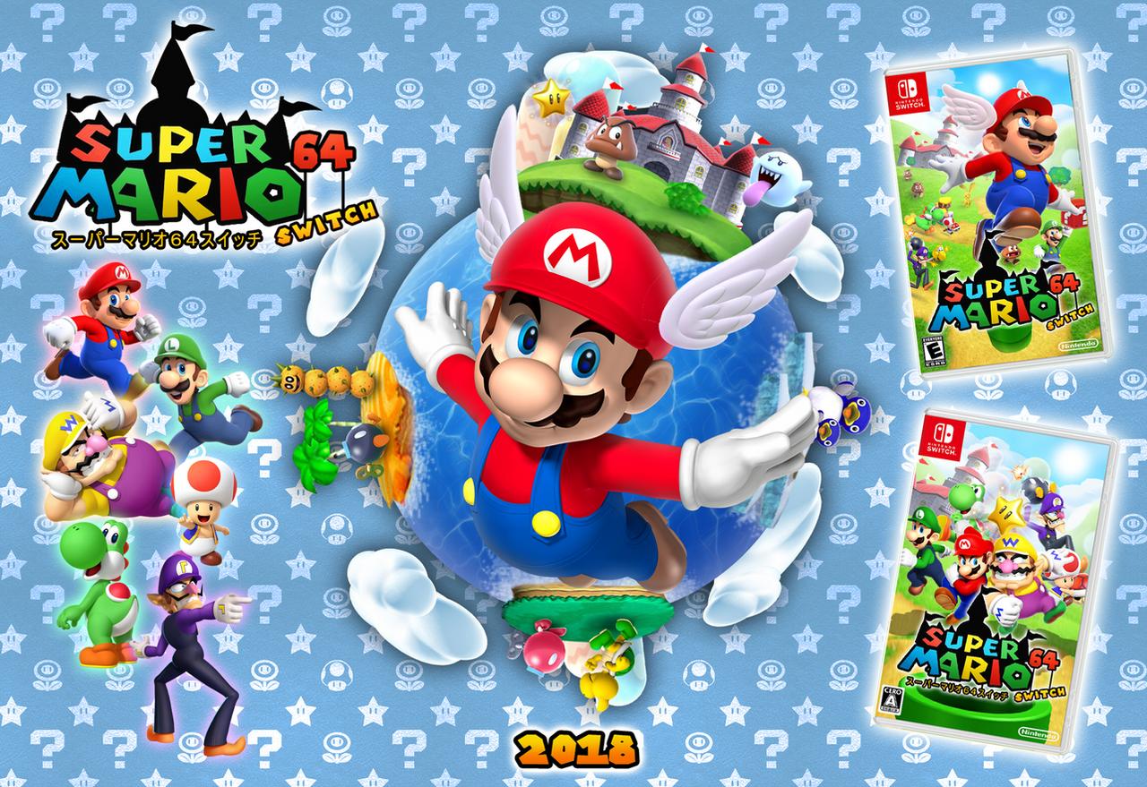 Super Mario 64 Switch by Zieghost on DeviantArt
