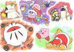 kirb doodles