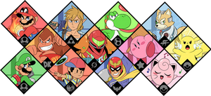 Super Smash Bros. Ultimate - Original 12