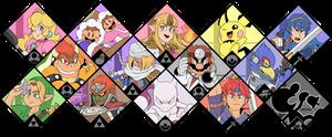 Super Smash Bros. Ultimate - Melee Fighters