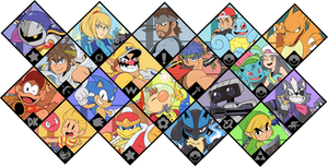 Super Smash Bros. Ultimate - Brawl Fighters