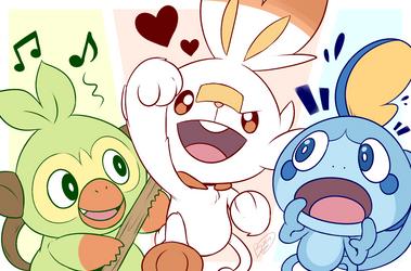 New Friends! by Zieghost
