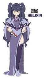 Pokemon Mirage - Team Nebula Leader: Helixia
