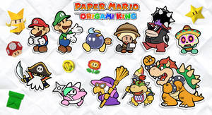 Paper Mario: The Origami King| Reimagined Partners
