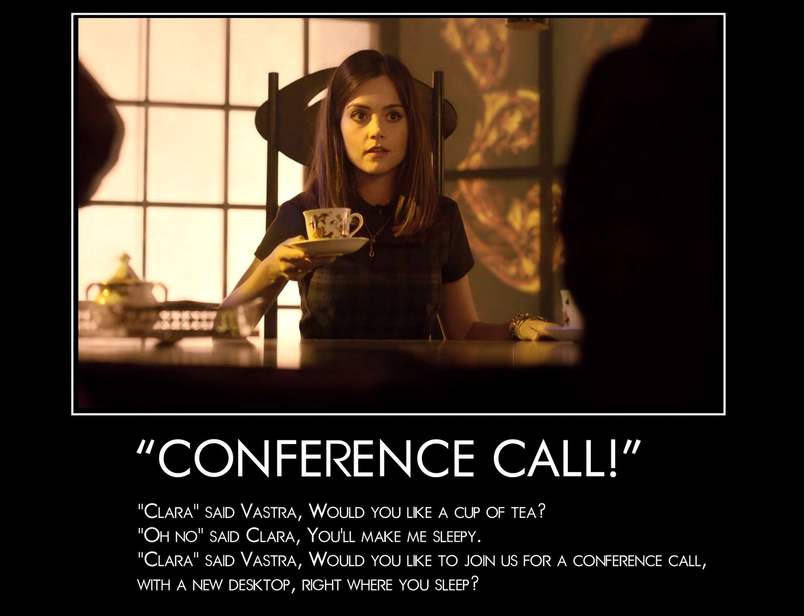 Christmas 2013 Countdown: CONFERENCE CALL by shadowbane2009 on ...
