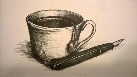 Tea and Fountain Pen