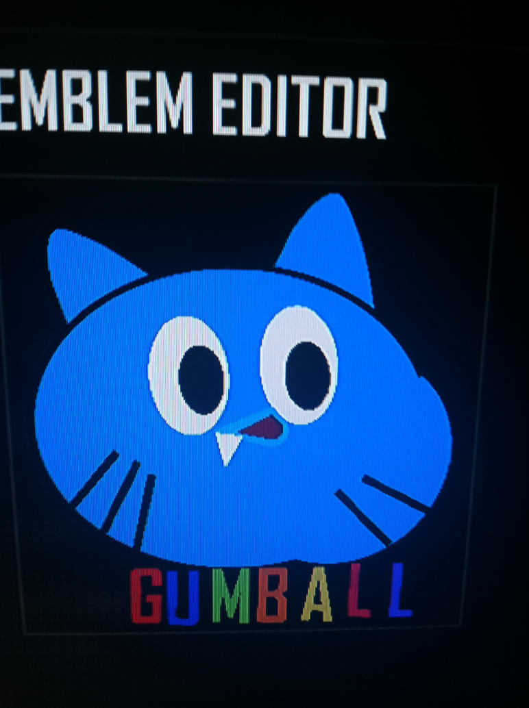 Black ops 2 my gumball watterson emblem by lonewonder1337 on black ops 2 my gumball watterson emblem by lonewonder1337 biocorpaavc