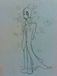W. D. Gaster - In The Cracks of Time and Space by BlackArmsGeneral