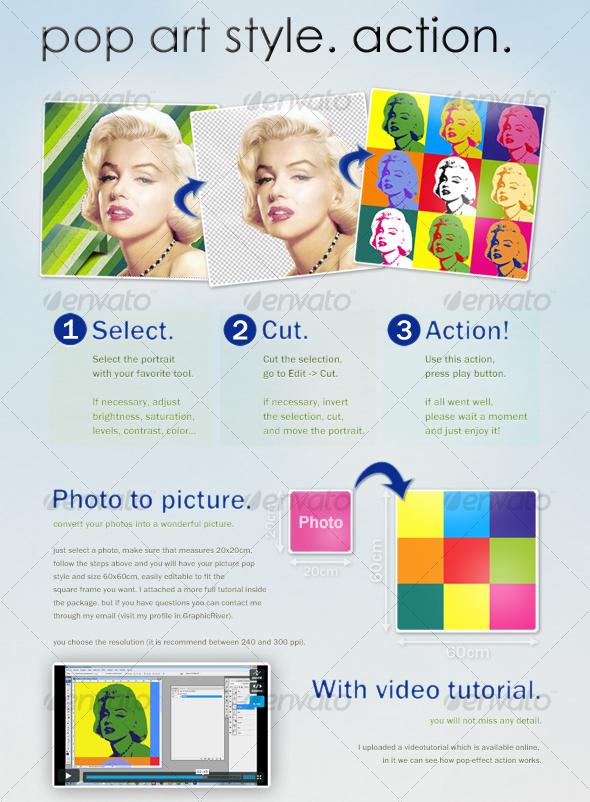 Simple Pop Art Effect - Photoshop Tutorial
