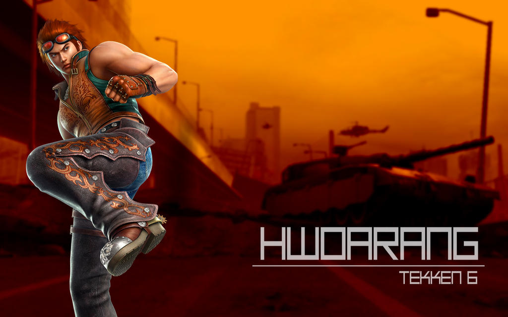 Hwoarang Tekken 6 Wallpaper By Biscuit The Great