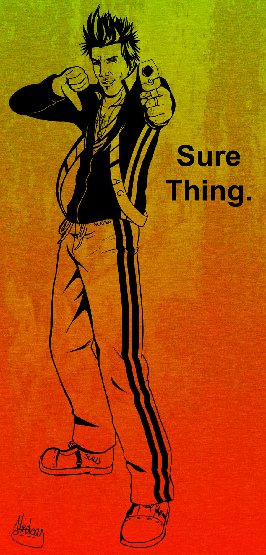 Sure Thing. by biscuit-the-great