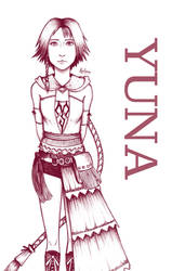 Yuna - FFX-2 by biscuit-the-great