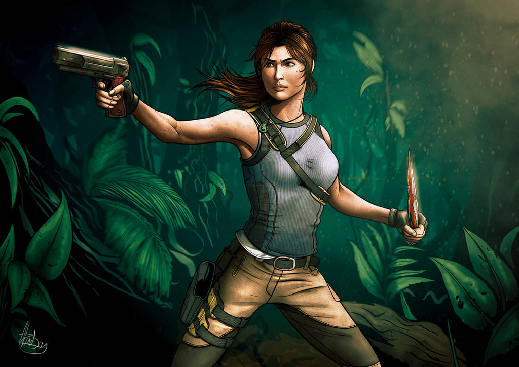 Shadow of the Tomb Raider - Fan Art by biscuit-the-great