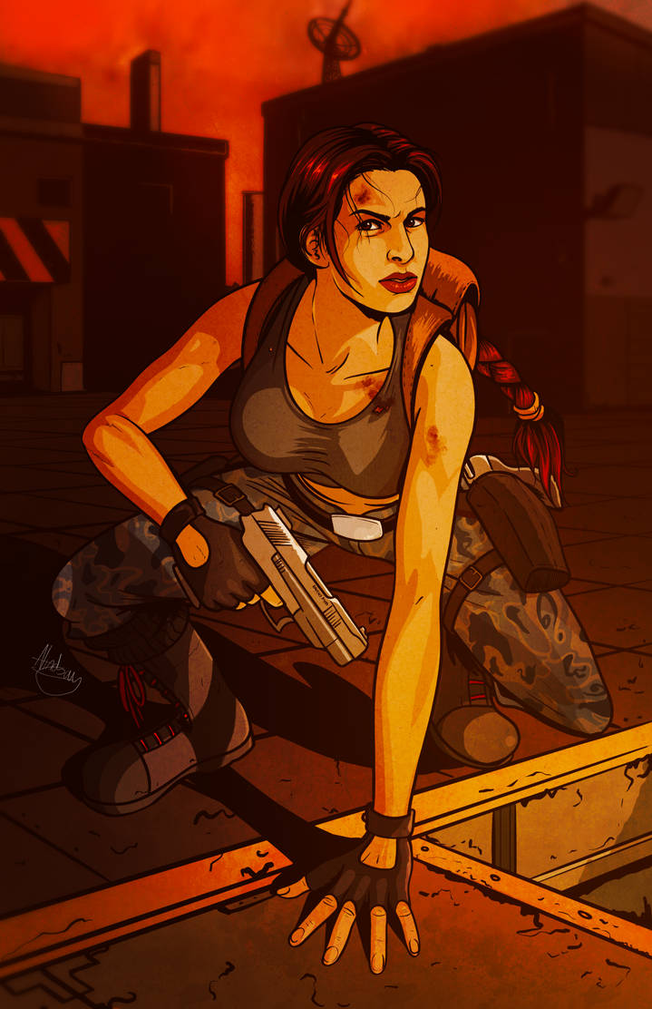 Tomb Raider III: 20th Anniversary Fan Art by biscuit-the-great