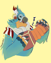 Kass by HungryCrow