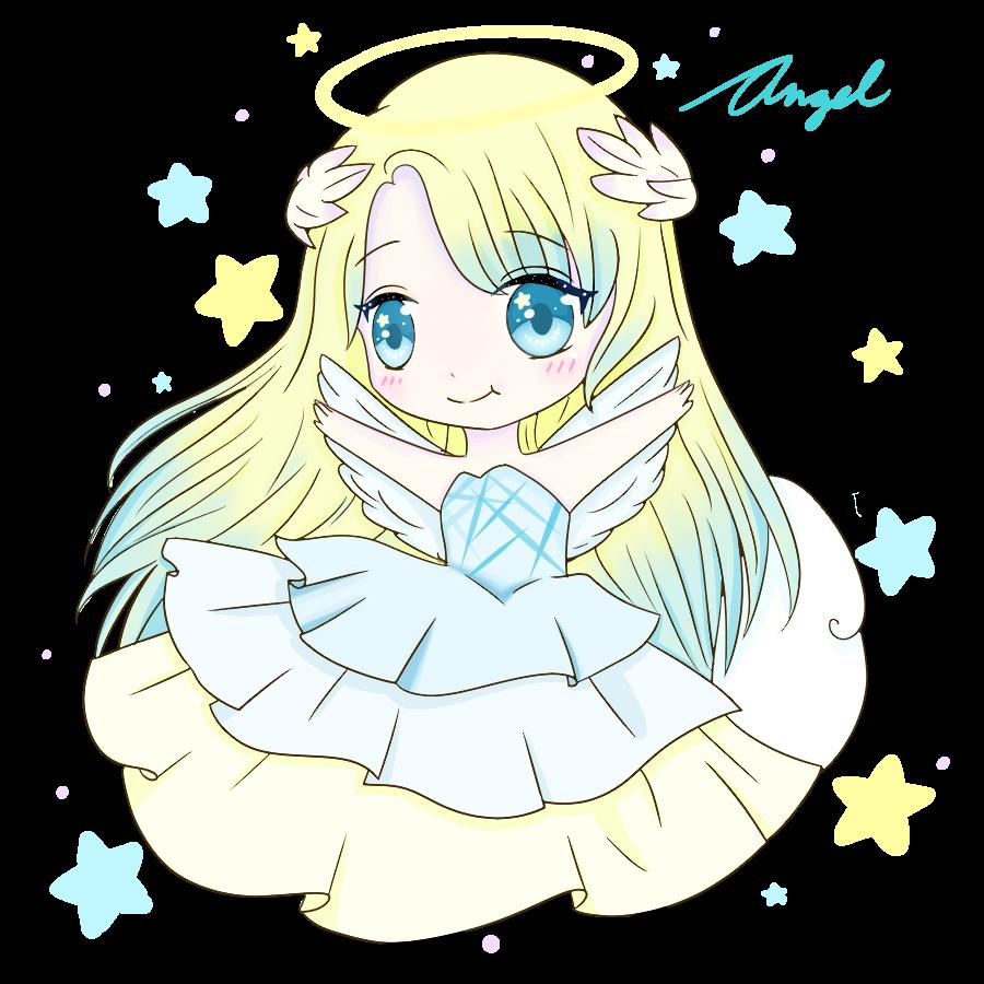Happy Angel Chibi By Noorin On Deviantart