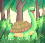 The Heavenly Dino Turtle