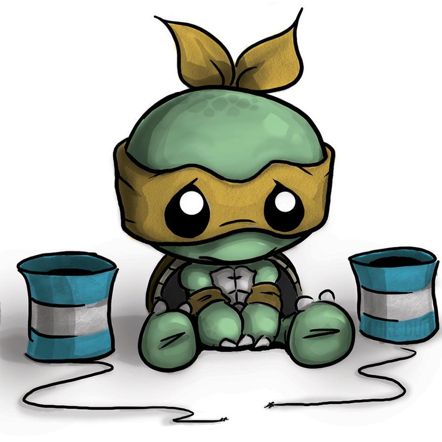 cute ninja turtles drawings