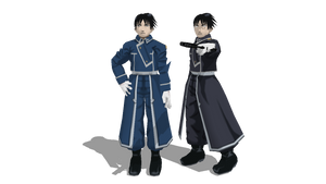 MMD Newcomer Roy Mustang
