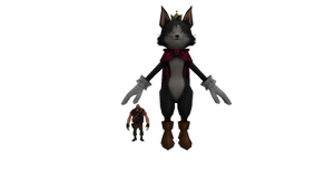 Combo Pack for MMD Cait Sith++Heavy