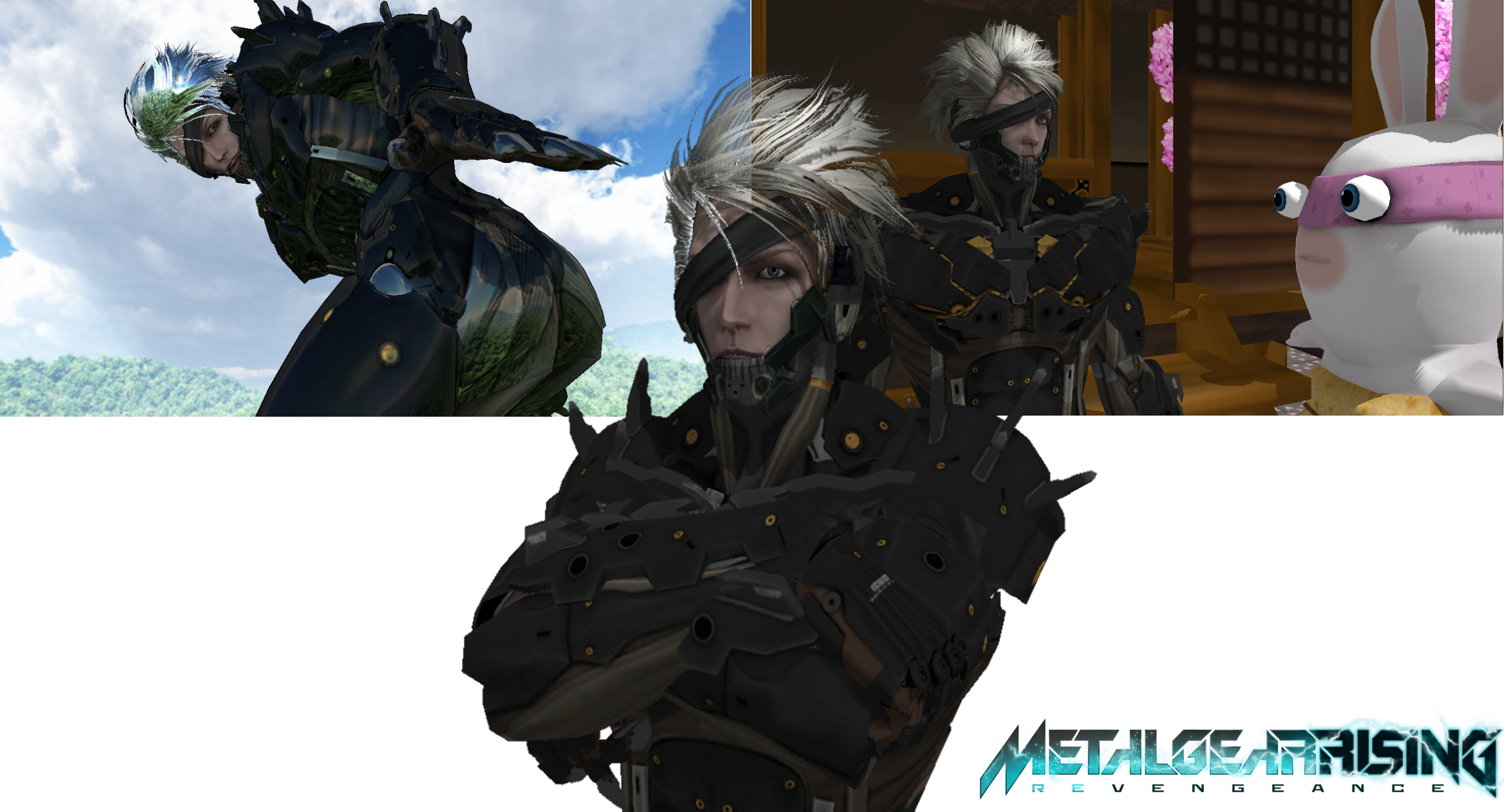 Raiden Metal Gear:Revengence MMD DL