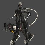 XNALARA Raiden and Blade Wolf