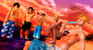 MMD One Piece End of Summer Pack