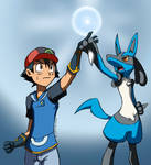 Pokemon: The aura is with me