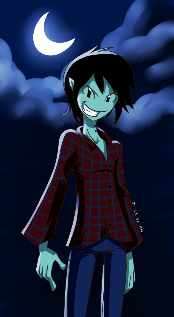 AT: Marshall Lee by Zilkenian
