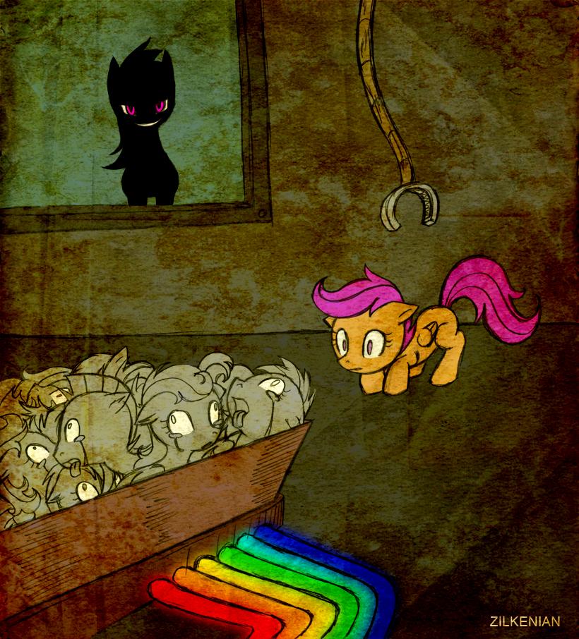 MLP: Rainbow Factory by Zilkenian