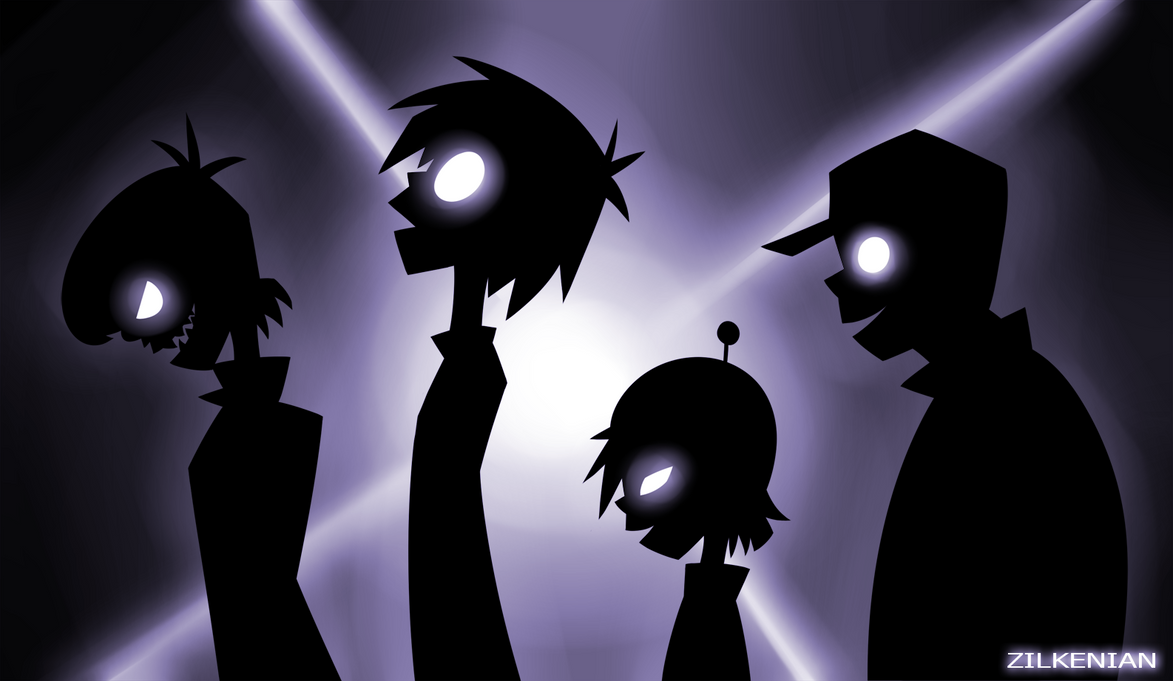 Gorillaz: Ghost Train by Zilkenian