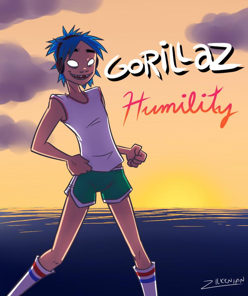 Gorillaz: Humility by Zilkenian on DeviantArt