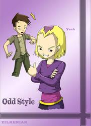 Odd Before Lyoko's Style by Zilkenian