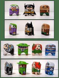 Batman and Rogues by jonito