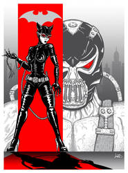 Catwoman/Bane Poster