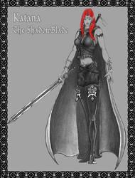 Katana - Dark Elf